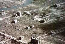 """Hiroshima e Nagasaki, l'orrore atomico / Il mattino del 6 agosto 1945 alle 8:15, l'Aeronautica militare statunitense sganciò la bomba atomica """"Little Boy"""" sulla città giapponese di Hiroshima, seguita tre giorni dopo dal lancio dell'ordigno """"Fat Man"""" su Nagasaki."""