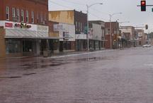 Goodland brick streets / Brick streets in Goodland, Kansas