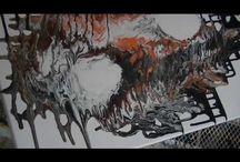 defi 2 / Acrylmalerei
