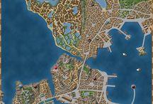 Sci-fi maps