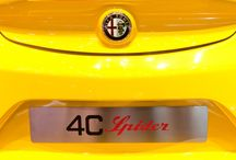 4c Spider @ Geneva Motor Show 2015 / Alfa Romeo Protagonist at the international event held in Geneva