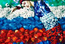 Floral | Colour | Inspiration / Riot of floral and colour! #floral #colour #fashion #couture #photography #editorial #model #designer