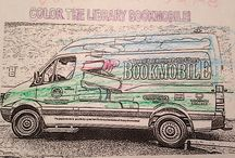 Coloring Pages / Kids can pick up a Bookmobile coloring page in the Children's Department. Share your finished picture with us so we can pin it here! / by East Hartford Public Library