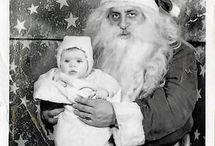 Creepy Santa Claus