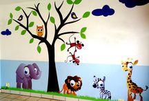 Vinyl Wall Art / Decorative wall stickers.