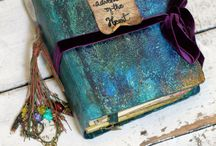 Books in Teal Mint Turquoise