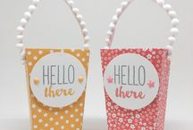 Popcorn Box Thinlets - Stampin' Up