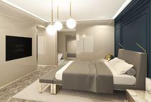 Refined modern heritage for contemporary living / Hotel room interior, luxury hotel interior, luxury interior design, modern hotel furniture