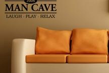 Mans cave decor