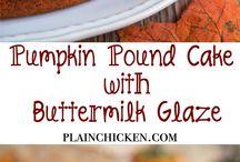 Thanksgiving dessert ideas / by Shannon New