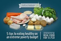 Live Below The Line / Ideas to help create meals for less than 2.25 NZD per day