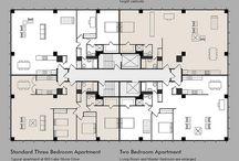 Arch◘ Apartments floor plans ◘