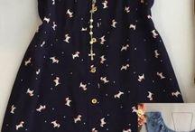 vestidos corte costura