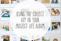 Project Life and Pocket Inspiration / Project Life and pocket scrapping inspiration