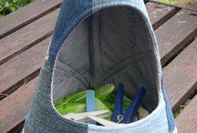 Tašky na kolíčky na pradlo
