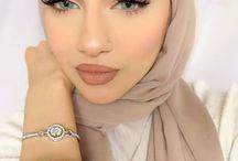 hijab makeup
