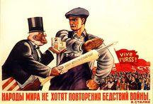 Ruské reklamní plagaty
