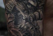 Tattoos with Samurai