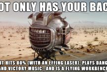 "Fallout - ""War Never Changes"" / So much of an obsession it deserves its own board... / by Scott Friel"