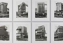 Fotografía. Bernd y Hilla Becher / Bernd y Hilla Becher (Bernd (1931 - 2007), Hilla (1934) son dos fotógrafos alemanes conocidos por sus series de imágenes edificios industriales examinando similitudes y diferencias en estructura y apariencia.