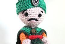 Crafts: Crochet other / altro / Scheme di lavori tipo amigurumi, animaletti, appliques, personaggi, ecc.  Patterns for non wearables such as: amigurumi, animaks, appliques, etc.