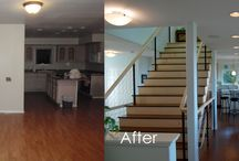 Kitchen Transformations / Before and after pictures of our kitchen remodels.