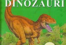 Dinozaurii / Acum multe milioane de ani in urma,cu mult inainte de aparitia oamenilor, au fost dinozaurii. Dinozaurii sunt una din cele cateva specii de reptile preistorice care au trait in era mezozoica, era reptilelor.