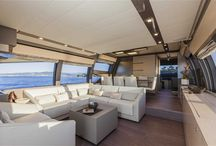 Ferretti Yachts 750 Interior Design / Discover the #Interior #Design #MadeInItaly on board of the Ferretti #Yachts 750