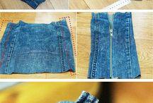 penal em jeans