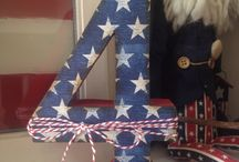 Decorating!  4th of July