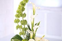 Flower arrangements / Table decs
