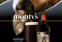 Monty's Brewery Food Recipes / Recipe ideas using our beers!