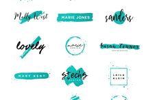 letters, logos and more / just a little inspiration for hand lettering and drawing :)