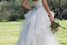 Spring 2018 Collection / The Sweetheart Spring 2018 collection blends all of the best in bridal right now – modern clean, skirt interest, deep-V necklines, and illusion cut-outs – for brides seeking on trend styles at a great price.