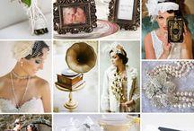 20's wedding theme inspiration
