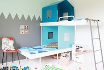 Home kids bedrooms / by Mich Ellesky