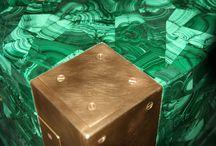LUXURY SAFES in MALACHITE / Casseforti di lusso rivestite in pietra semipreziosa