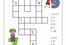cross word number