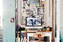 Interiors / workspace. / Creative spaces
