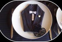Pliage de serviettes / comment plier vos serviettes de table de façon originale
