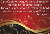 Good News / The Gospel means Good News!