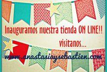 Inauguración Tinda Online / Comenzamos una nueva etapa. Visita nuestra página donde encontraras todo para tu boda. www.anastasiaysebastien.com