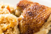 Slow cooker rice and chicken