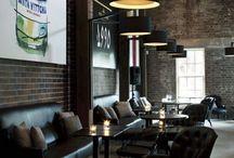 intérieur retro coffee shop