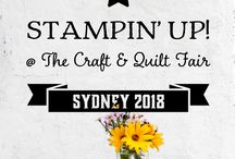Stampin' Up! At the Sydney Quilt & Craft Show