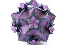 Paper Kusudama / Origami ball decorations