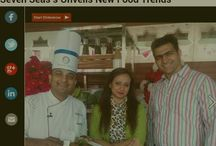 COVERAGE IN NAVBHARATTIMES.COM... Veterans in hospitality & catering Seven Seas group redefines wedding menu. Watch out for the coverage in navbharattimes.com.