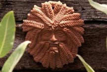 GreenMan / I love the greenman.  