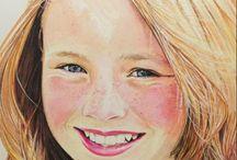color pencil portrait