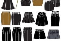 Fashion: Technical sketch